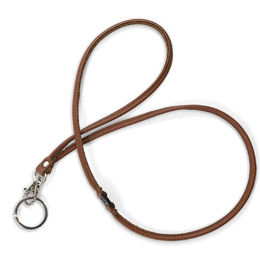 Key lanyard, brown