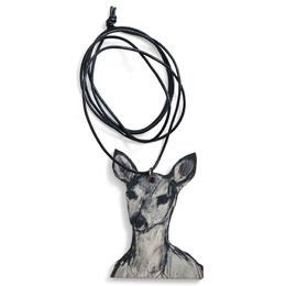 Deer necklace