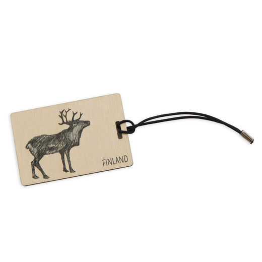 Luggage tag Reindeer
