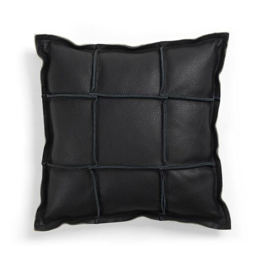 Väre cushion square, black