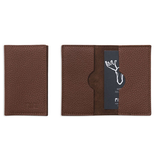 Card wallet, brown