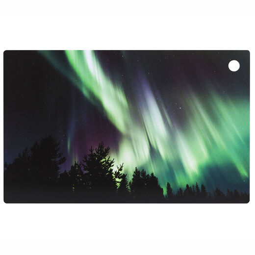 Cutting board Northern lights