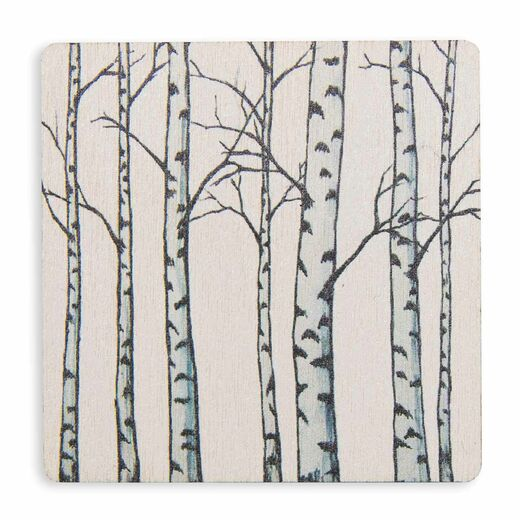 Magnet Birches