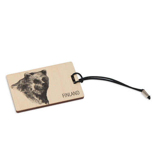 Luggage tag Bear