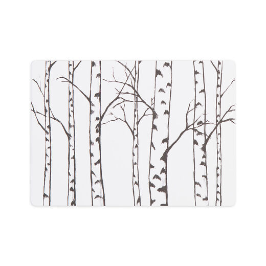 Postcard Birches
