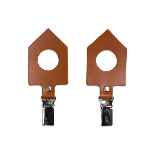 Towel Clips House brown