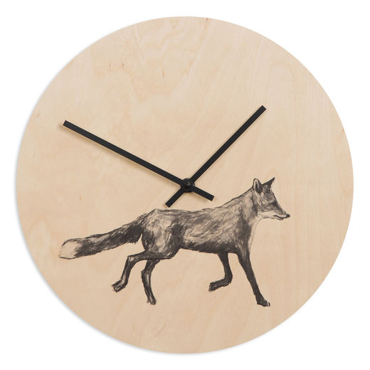 Wall clock Fox